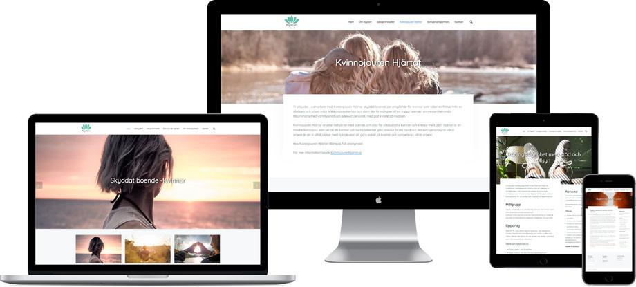 Så här kan du bygga en egen hemsida.