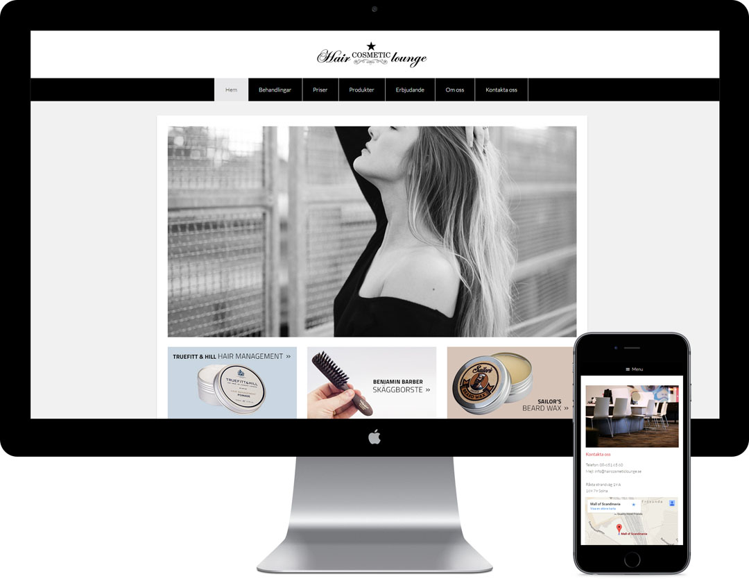 Hjälpa dig med en snygg hemsida i WordPress.